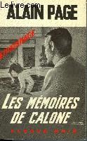 LES MEMOIRES DE CALONE
