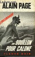 UN BOUILLOON POUR CALONE