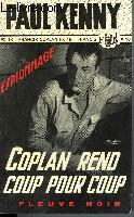 COPLAN REND COUP POUR COUP