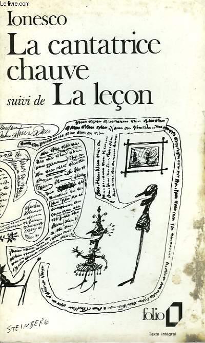 LA CANTATIVE CHAUVE - ANTI PIECE - SUIVI DE - LA LECON