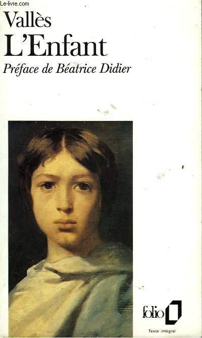 JACQUES VINGTRAS - I - L'ENFANT