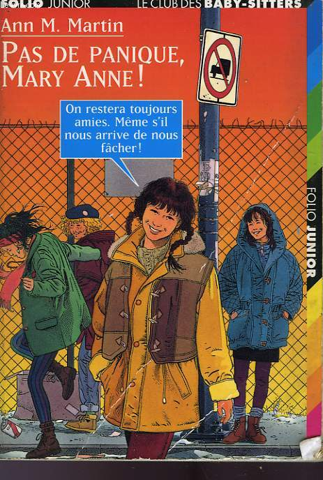 PAS DE PANIQUE, MARY ANNE!