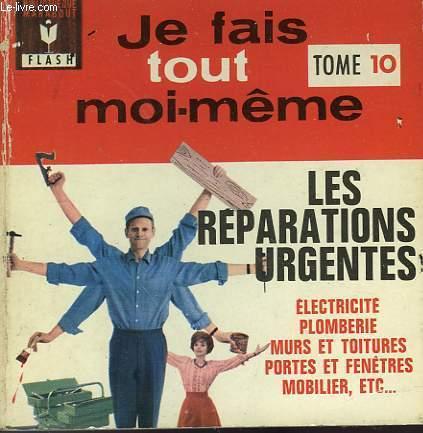 ELECTRICITE - MOBILIER - PLOMBERIE - JE FAIS TOUT MOI-MEME! - TOME X