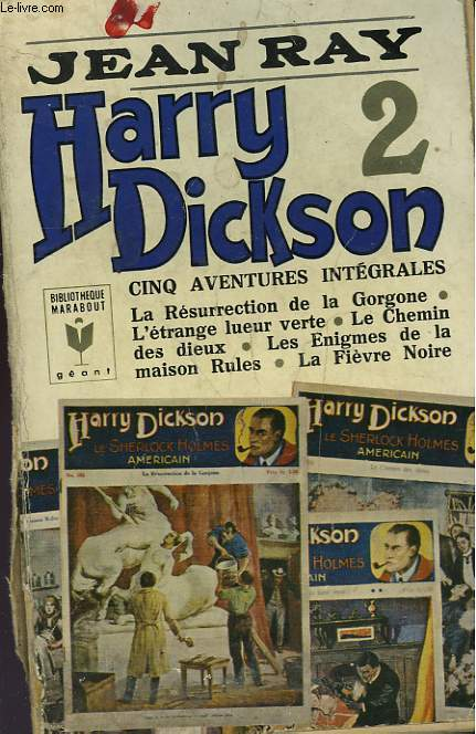 HARRY DICKSON - TOME II