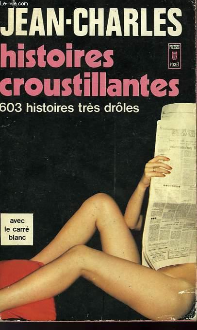 HISTOIRES CROUSTILLANTES AVEC CARRE BLANC