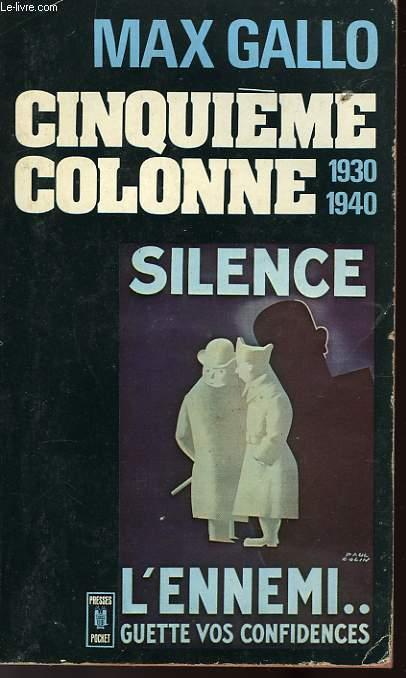 CINQUIEME COLONNE 1930-1940