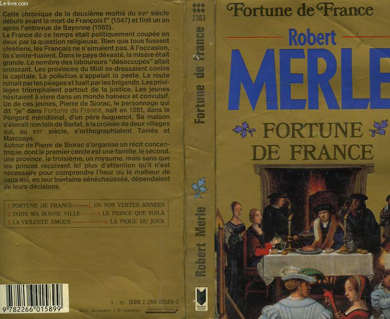 FORTUNE DE FRANCE - TOME 1