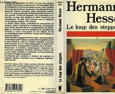 LE LOUP DES STEPPES - DER STEPPENWOLF