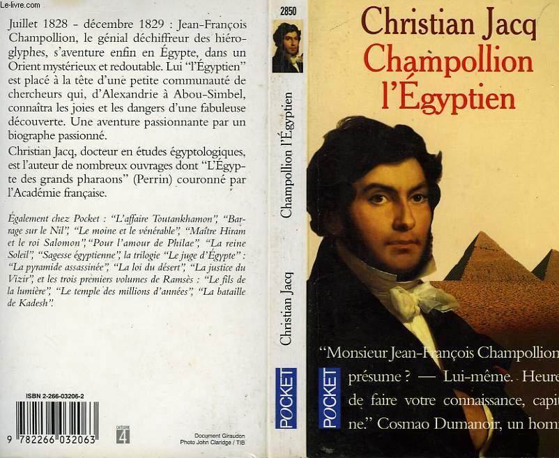 CHAMPOLLION L'EGYPTIEN