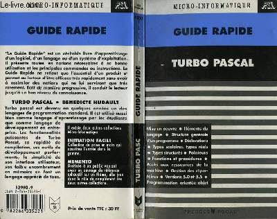 GUIDE RAPIDE TURBO PASCAL