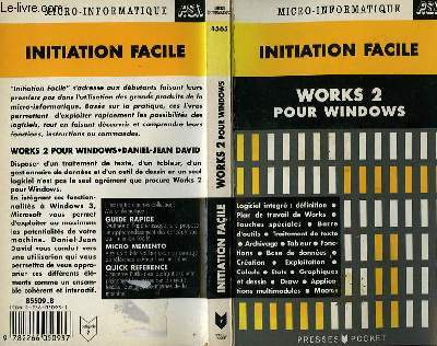 INITIATION FACILE WORKS 2 POUR WINDOWS
