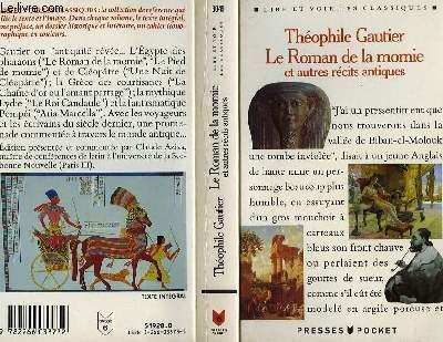 LE ROMAN DE LA MOMIE et autres reçits antiques