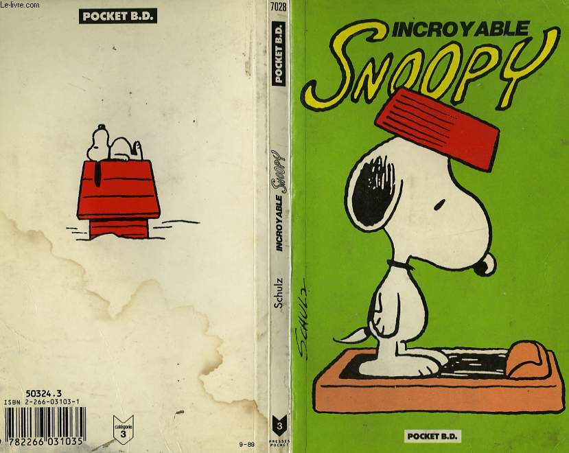 INCOYABLE SNOOPY