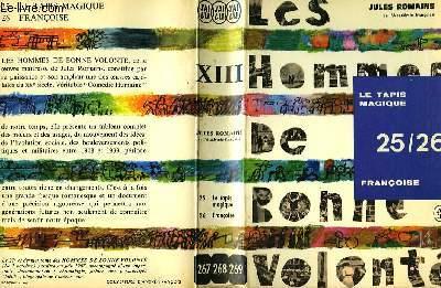 LES HOMMES DE BONNE VOLONTE - TOME XIII - 25/26 -