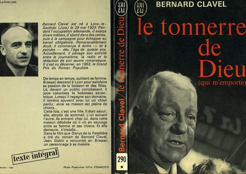 LE TONNERRE DE DIEU (QUI M'EMPORTE)