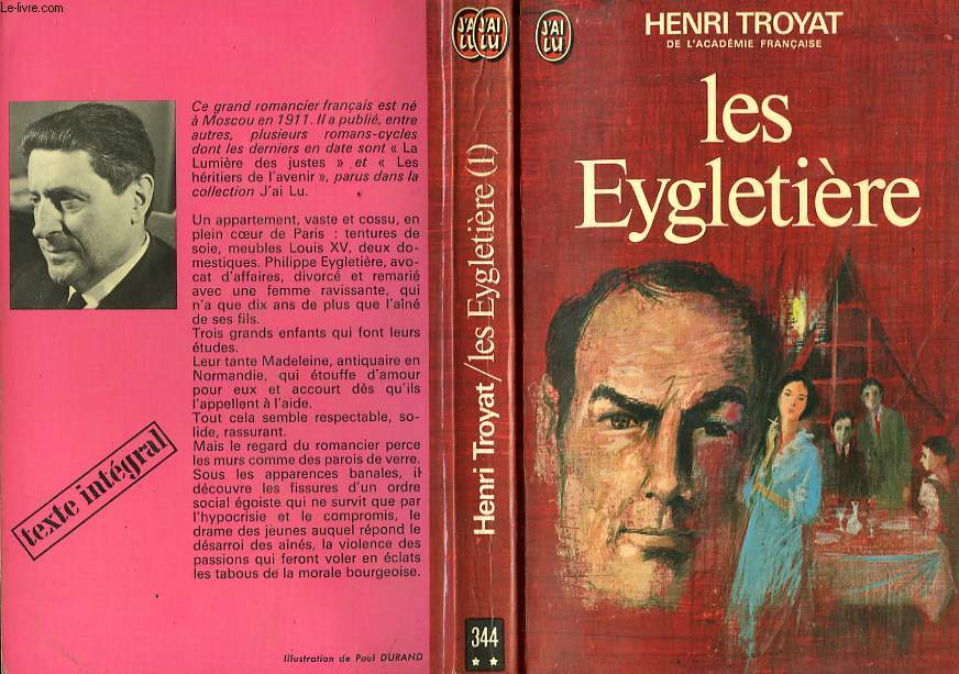 LES EYGLETIERE - TOME 1