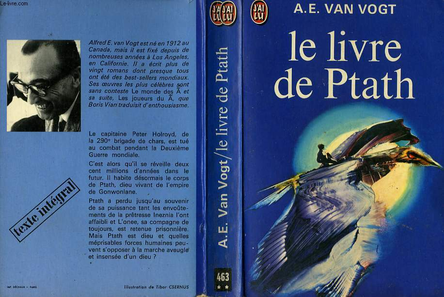 LE LIVRE DE PTATH - THE BOOK OF PTATH