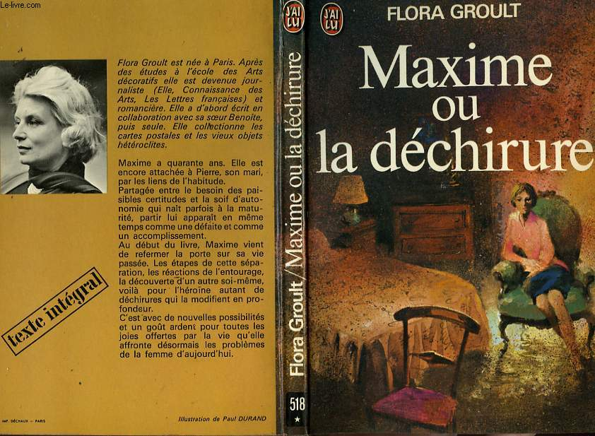 MAXIME OU LA DECHIRURE