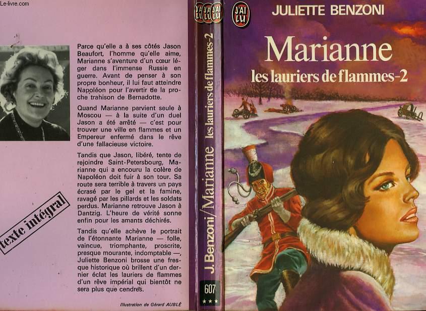 MARIANNE, LES LAURIERS DE FLAMMES - TOME 2
