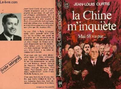 LA CHINE M'INQUIETE (Pastiches)