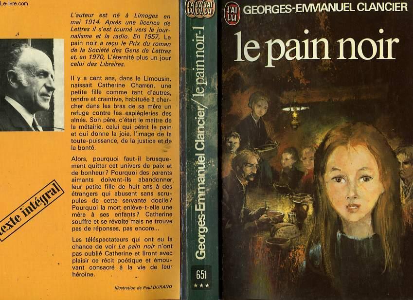 LE PAIN NOIR - TOME 1
