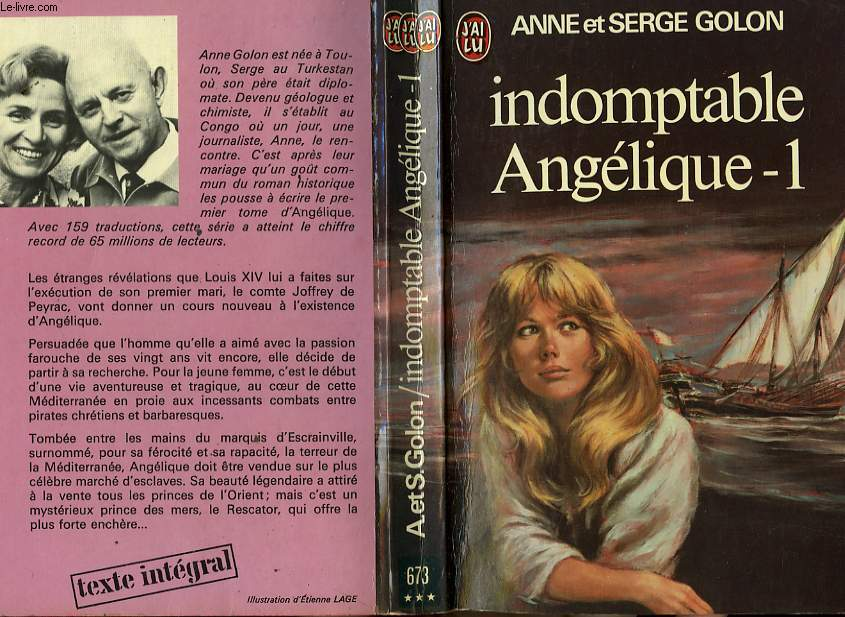 INDOMPTABLE ANGELIQUE - TOME 1