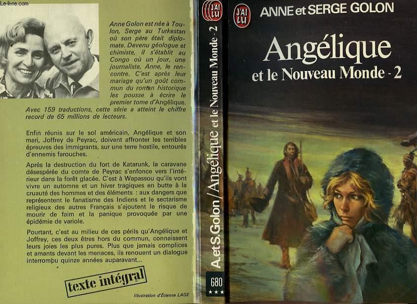 ANGELIQUE ET LE NOUVEAU MONDE - TOME 2