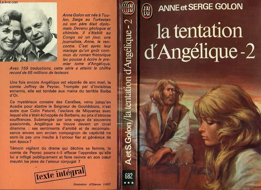LA TENTATION D'ANGELIQUE - TOME 2