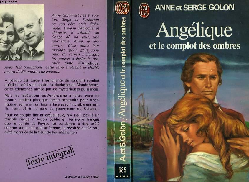 ANGELIQUE ET LE COMPLOT DES OMBRES