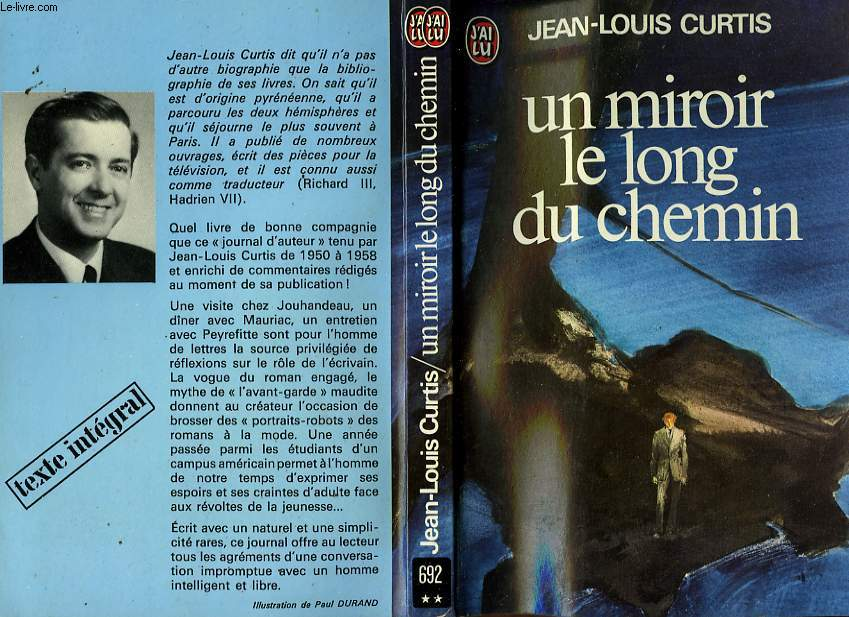 UN MIROIR LE LONG DU CHEMIN (JOURNAL)