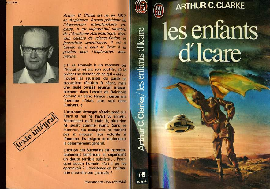 LES ENFANTS D'ICARE - CHILDHOOD'S END