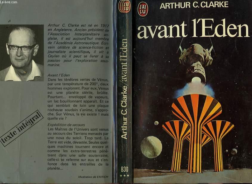 AVANT L'EDEN - THE NINE BILLION NAMES OF GOD
