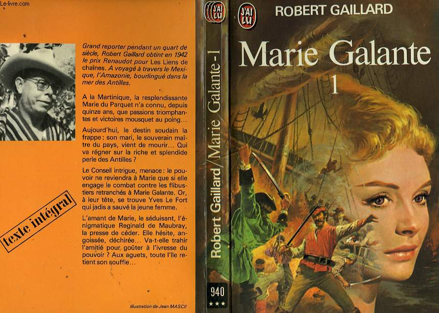 MARIE GALANTE - TOME 1