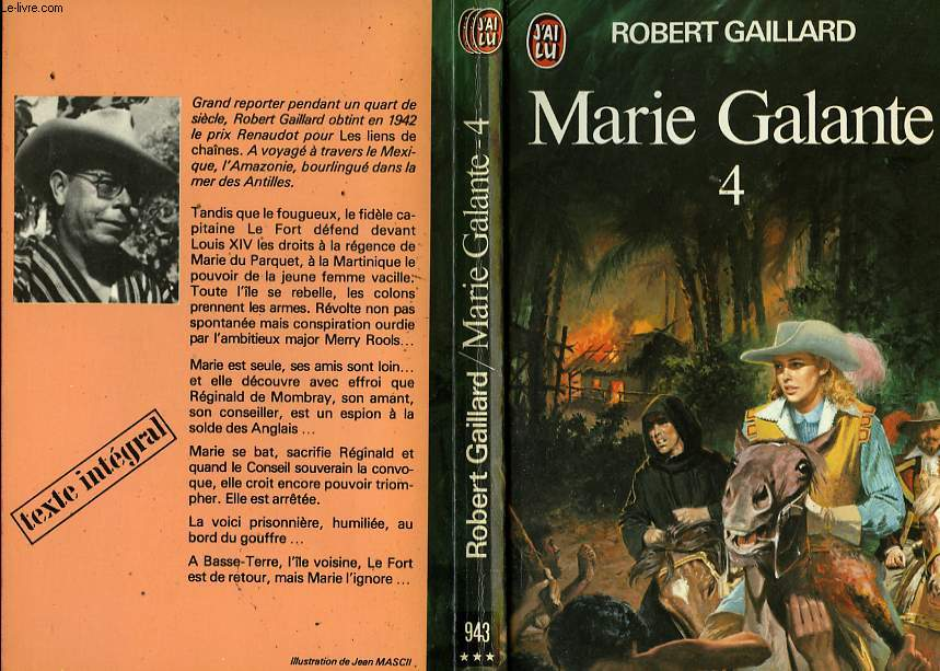 MARIE GALANTE - TOME 4