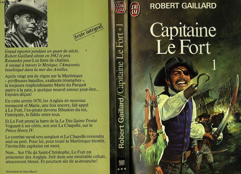 CAPITAINE LE FORT - TOME 1