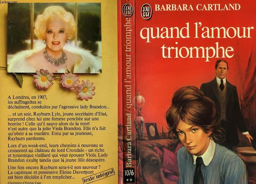 QUAND L'AMOUR TRIOMPHE - VOTE FOR LOVE