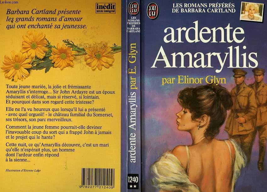 ARDENTE AMARYLLIS - THE PRICE OF THINGS