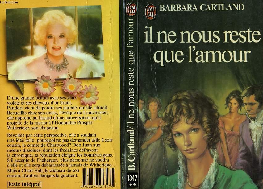 IL NE NOUS RESTE QUE L'AMOUR - THE SAINT AND THE SINNER