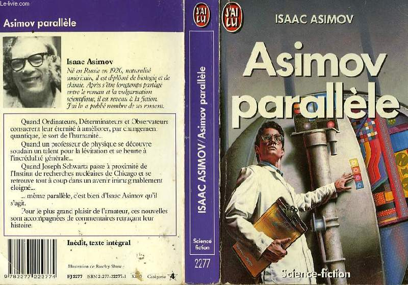 ASIMOV PARALLELE - THE ALTERNATE ASIMOVS