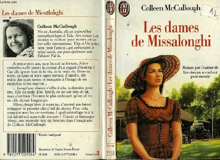 LES DAMES DE MISSALONGHI - THE LADIES OF MISSALONGHI