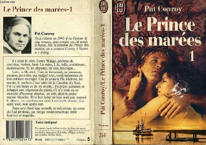 LE PRINCE DES MAREES - TOME 1 - THE PRINCE OF TIDES