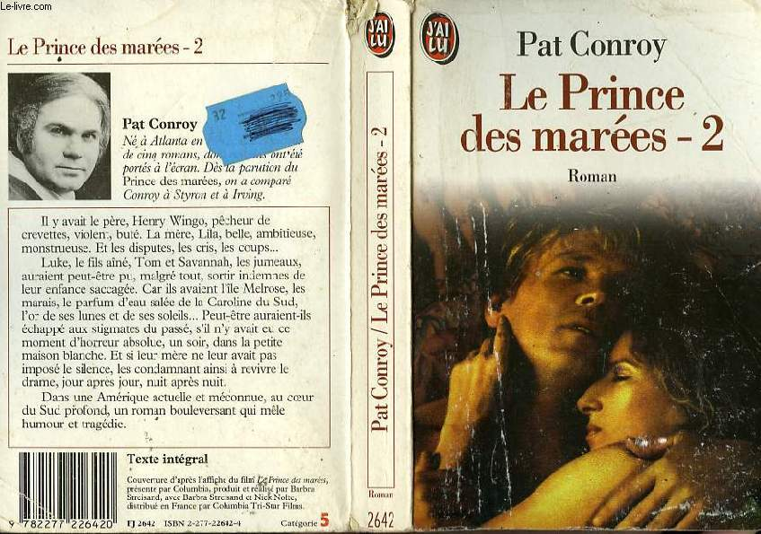 LE PRINCE DES MAREES - TOME 2 - THE PRINCE OF TIDES