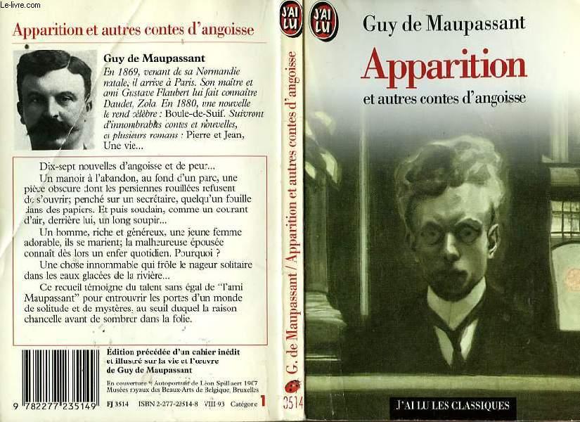 APPARITIONS et autres contes d'angoisse