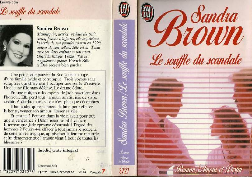 LE SOUFFLE DU SCANDALE - BREATH OF SCANDAL
