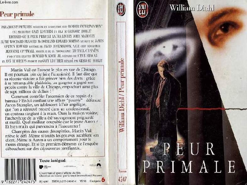 PEUR PRIMALE - PRIMAL FEAR