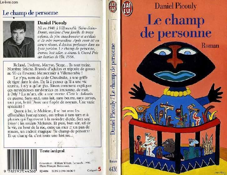 LE CHAMP DE PERSONNE