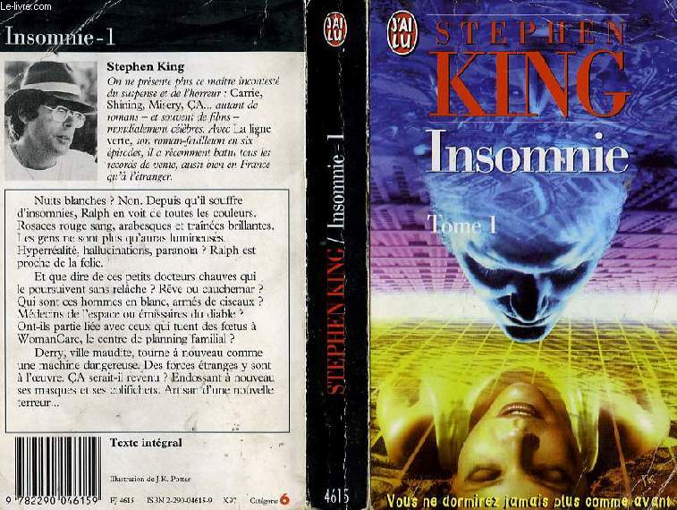 INSOMNIE - TOME 1 - INSOMNIA