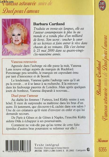 VANESSA RETROUVEE suivi de DUEL POUR L'AMOUR - FRAME OF DREAMS / SAFE AT LAST