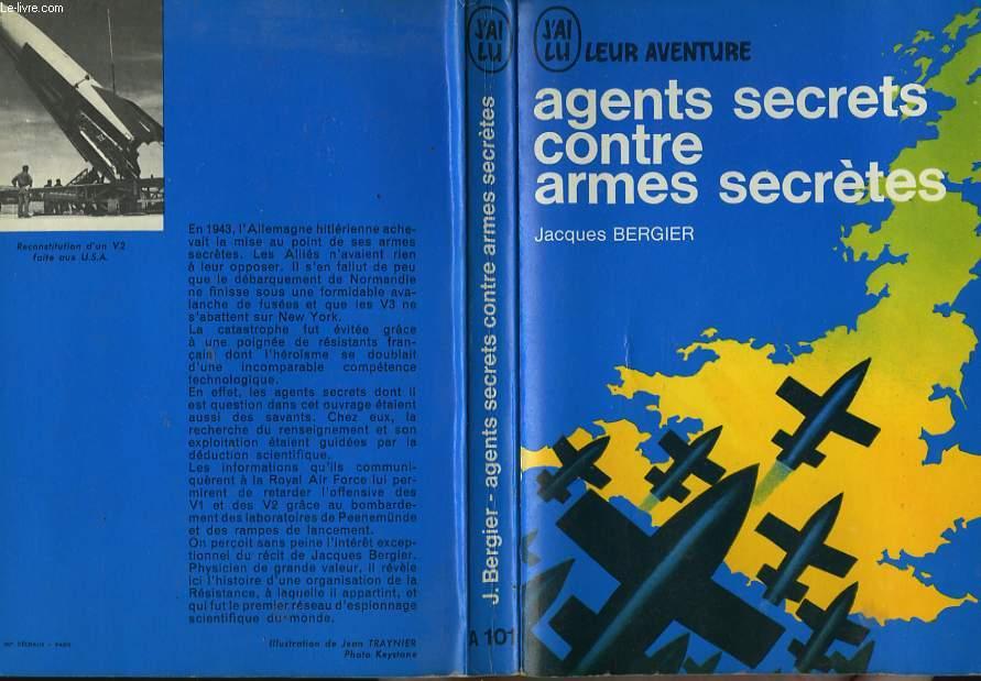 AGENTS SECRETS CONTRE ARMES SECRETES