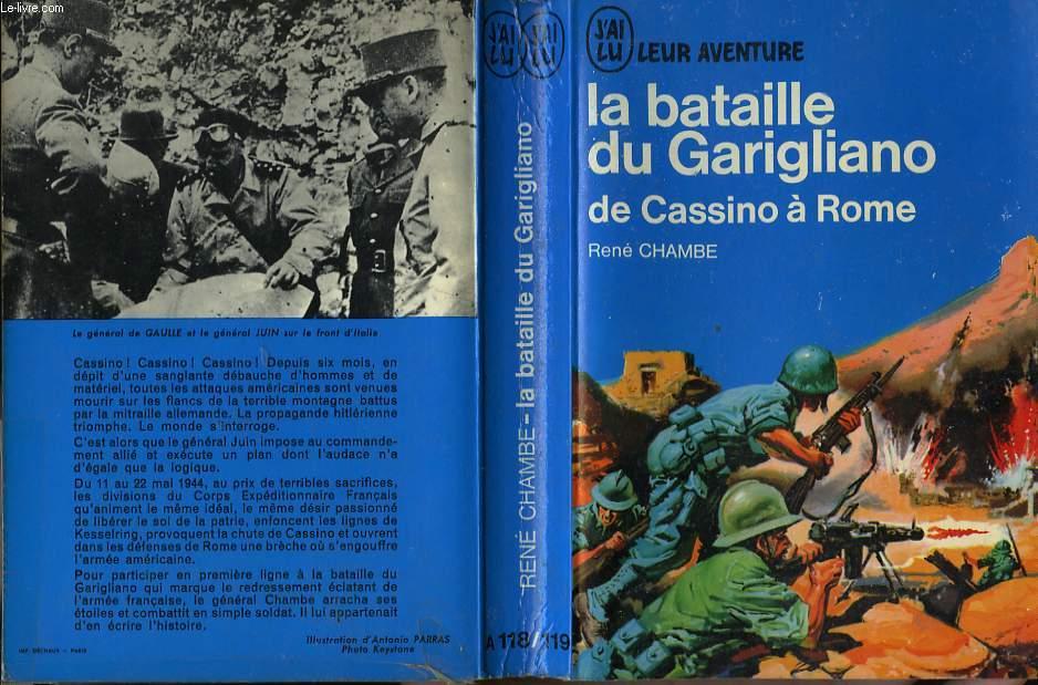 LA BATAILLE DU GARIGLIAN, DE CASSINO A ROME